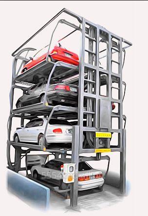Вертикальные автомобильные парковки