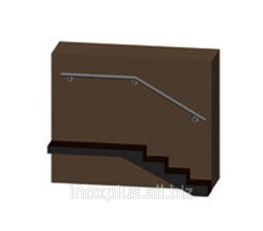 Buy Wall hand-rail from a stainless steel