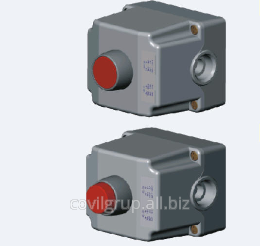 Push-button box IP65 ST22K1