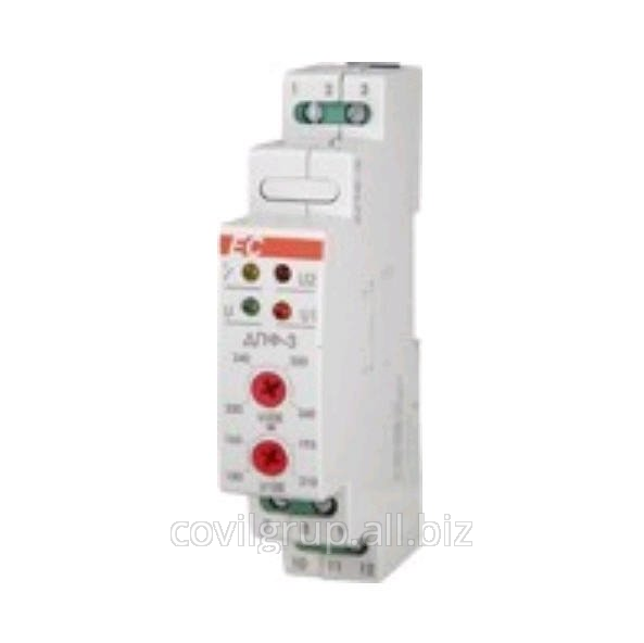 Voltage relay ДПФ-3 1ph 1P 16A 150-210V 230-260V to 600V