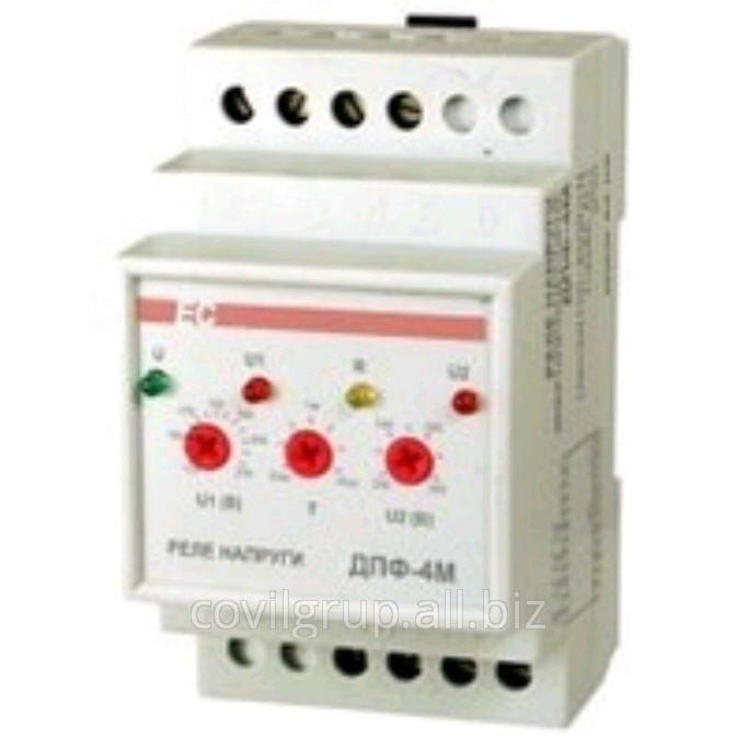 Voltage relay ДПФ-4м 3f