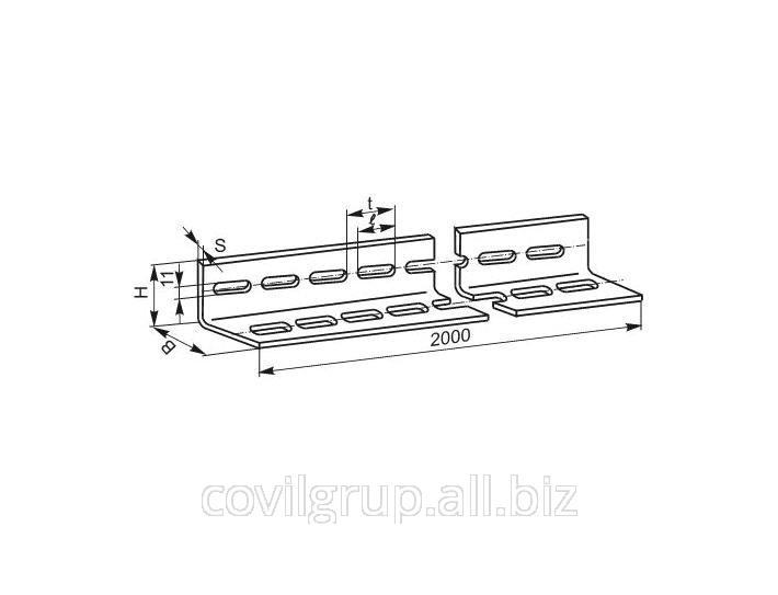 Perforated corner УП 60*40 2m К237 galvanized