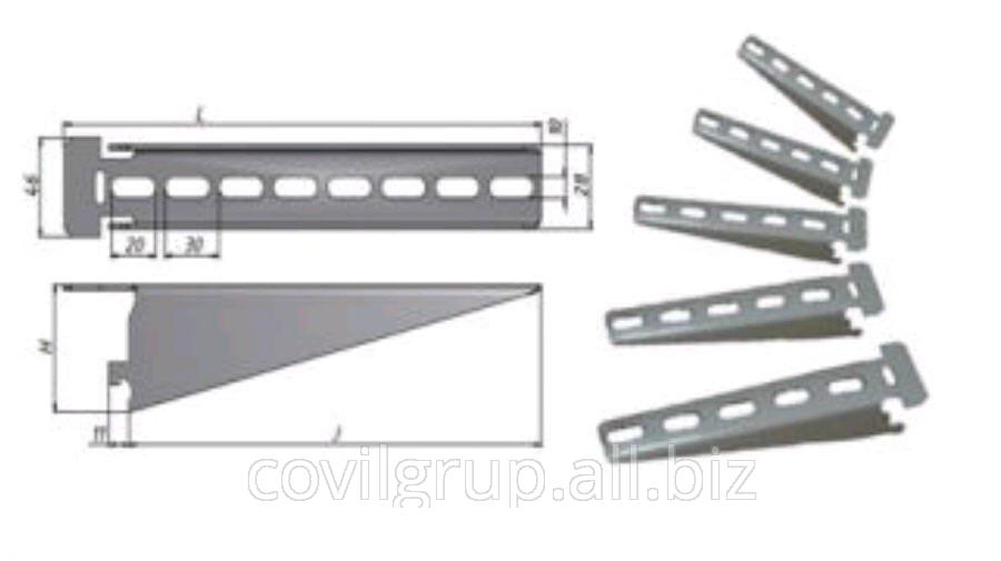 Shelf K-1160 galvanized U3 L = 17cm