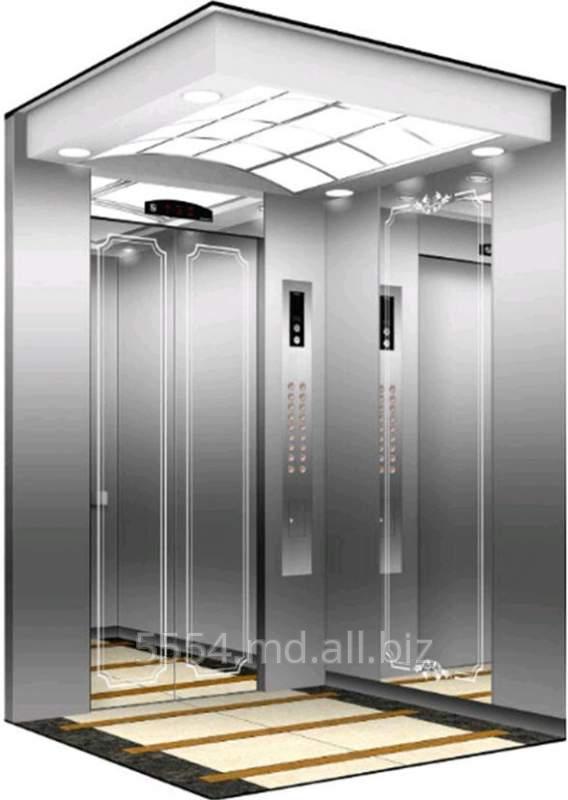 Грузовой лифт вместительный