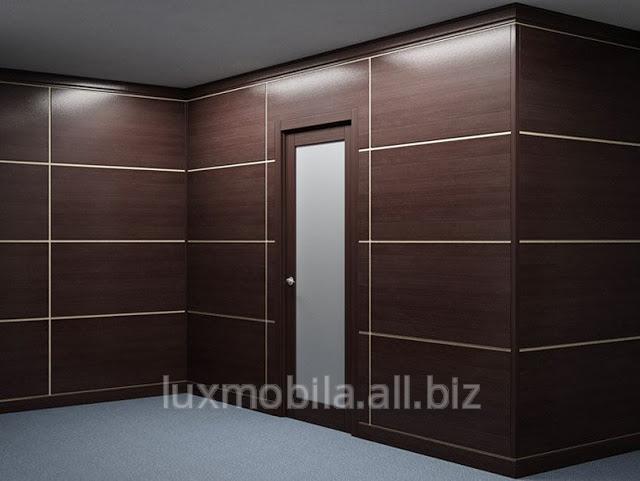Купить Встроенные шкафы для офиса на заказ