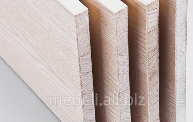 Купить Столярная плита (мебельный щит), покрытая шпоном