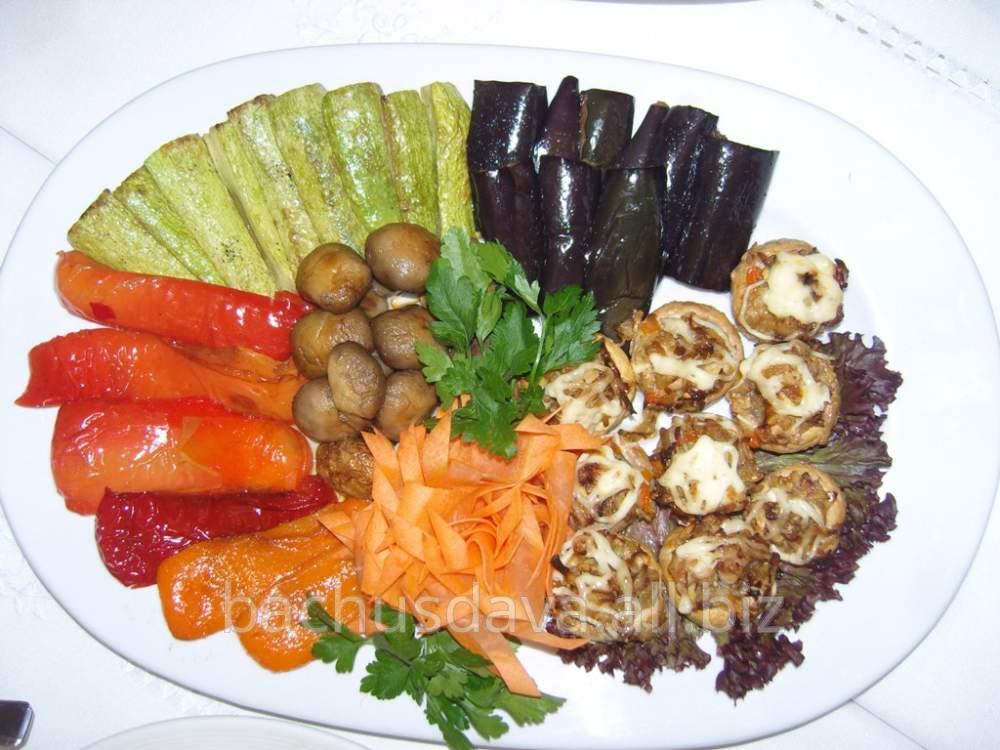 Купить Овощи гриль в ресторане Bachus Dava