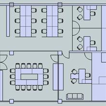 Купить Офисные помещения: планировка, дизайн