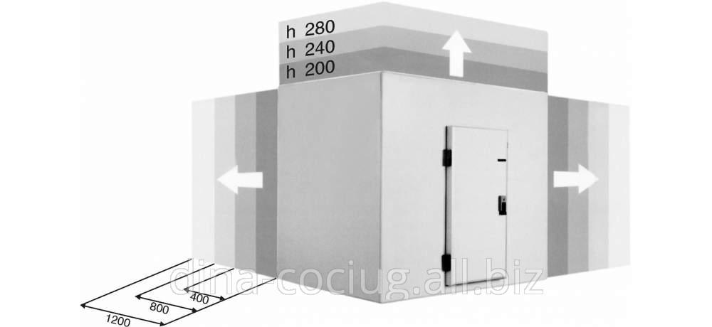 Купить Среднетемпературные холодильные камеры