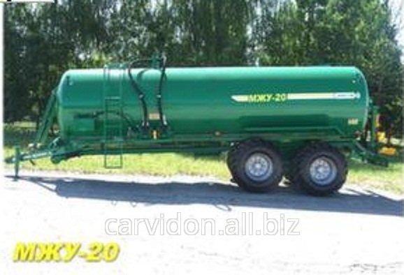 Купить Машина для внесения жидких органических удобрений (бочка для транспортировки навоза) МЖУ-20