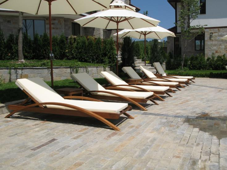 Buy Chaise lounges Caribbean Islands Wooden chaise lounges and beds