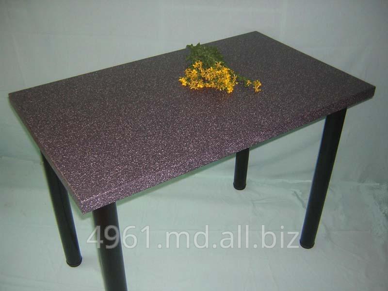 Купить Столы офисные, кухонные под натуральный камень.