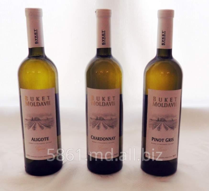 Купить Вино виноградное сухое «Алиготе».