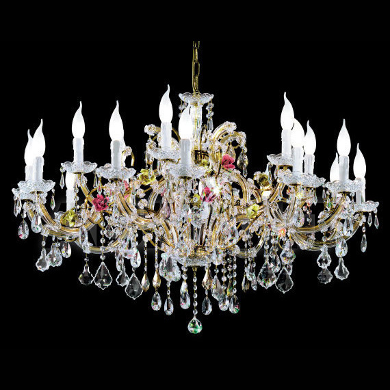 Buy Chandelier of Masiero Ottocento Ve 948 12+6