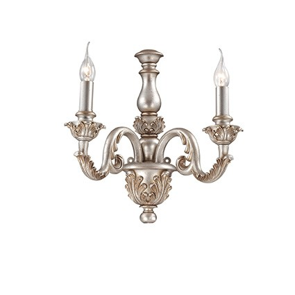 Buy Sconce of Ideal Lux Giglio Argento AP2