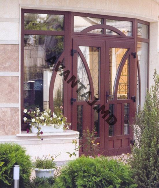 Купить Двери из красного дерева, арт. 3