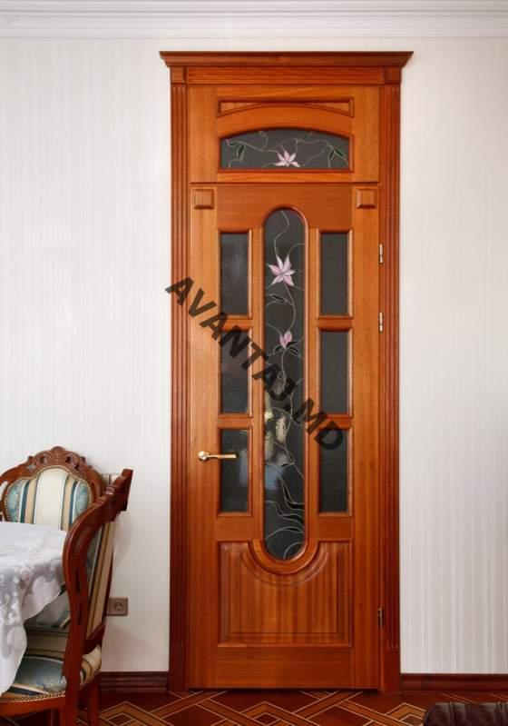 стальные двери с натуральным деревом
