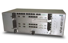 Telephone exchange of Siemens HiPath 4000