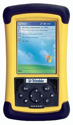El regulador de corriente Trimble Recon