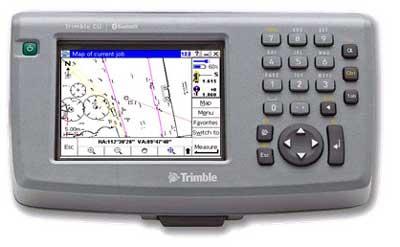 The Trimble Control Unit controller - TCU