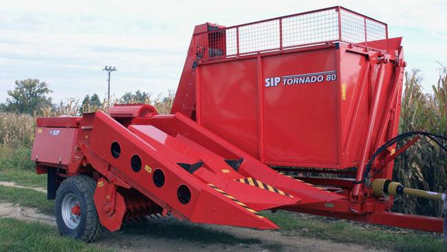 Кукурузо-уборочный комбайн Tornado-40/80  купить Молдова