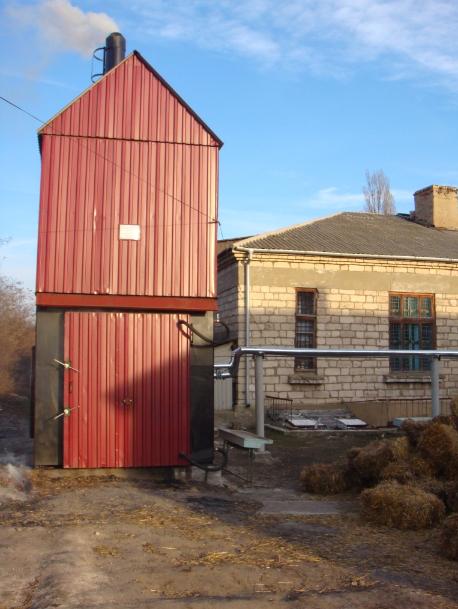 Теплогенераторы на соломе 75-750 кВт купить Молдова