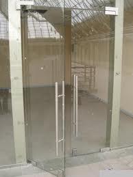 Doors entrance glass in Moldova