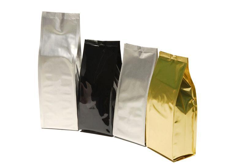 Пакеты без печати, цвет серебро