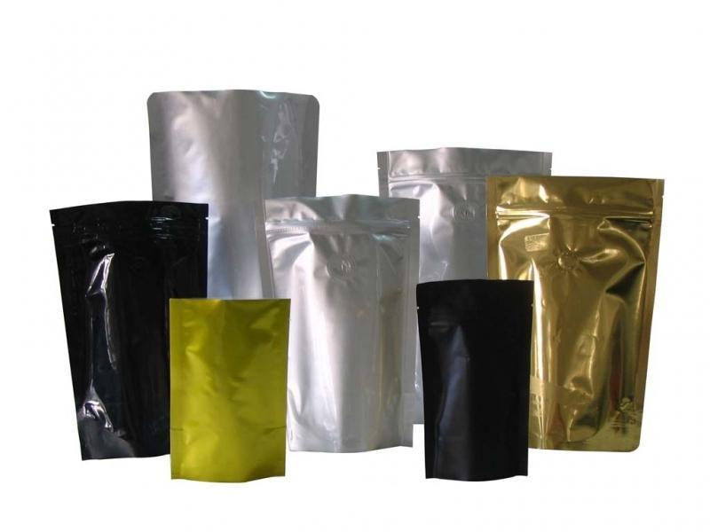 Кофейные пакеты без печати с дегазационным клапаном