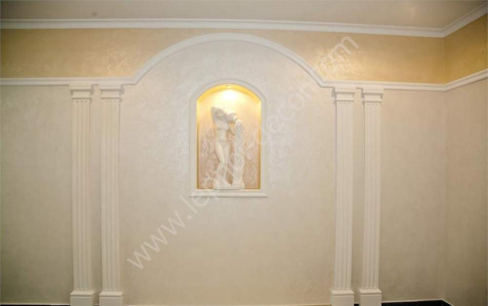 Buy Installation of a stucco molding, types of a stucco molding, painting of a stucco molding, stucco molding 3D model, stucco molding gilding, modelled decor, front modelled decor, modelled decor on a ceiling, a modelled decor from plaster, a modelled decor