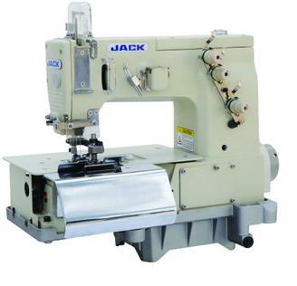 Специальная двухигольная четырехниточная машина цепного стежка JACK JK-82000C