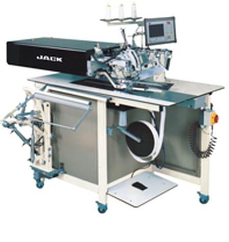 Машина-автомат JACK JK-5878-38Polo для изготовления планки на трикотажных изделиях