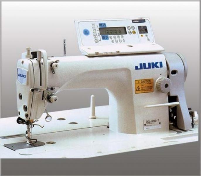 Купить Одноигольная машина челночного стежка с нижним транспортером JUKI DDL-8700-7