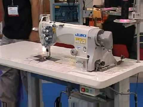 Двухигольная машина челночного стежка JUKI LH-3588