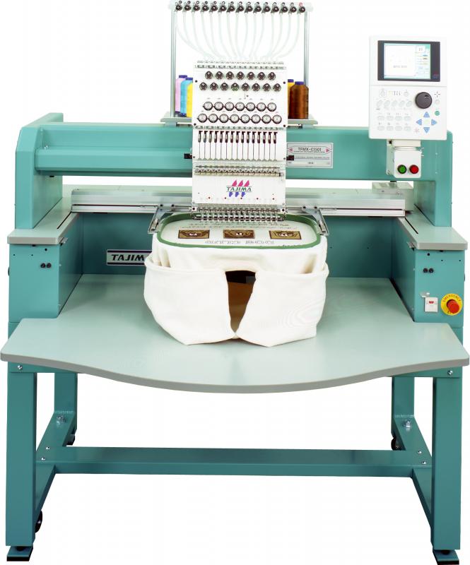 Многоголовочная вышивальная машина TAJIMA TFMX, TFMX-II