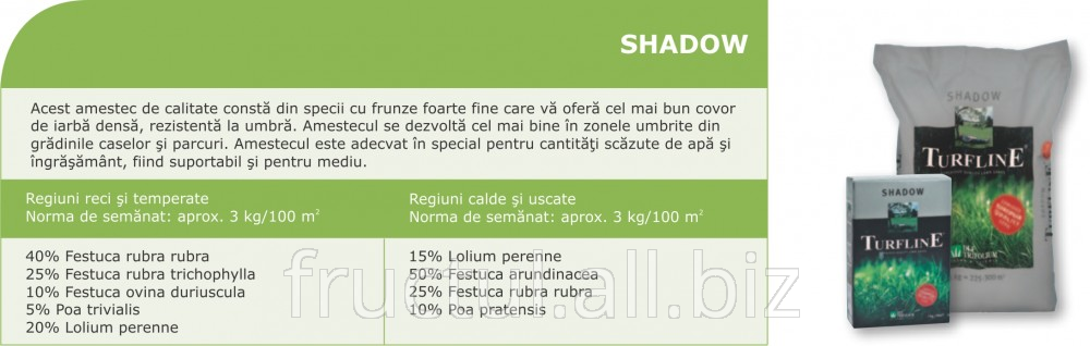 Купить Seminte de iarba de gazon Shadow