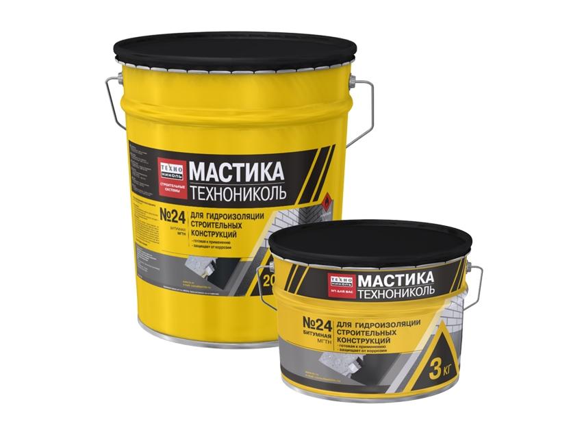 Buy Mastic waterproofing TEKHNONIKOL No. 24 (MGTN)