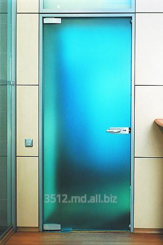 двери для ванной стеклянные