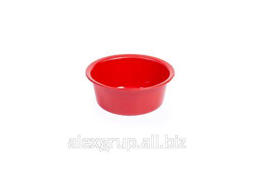 Купить Миска круглая из пластика №2
