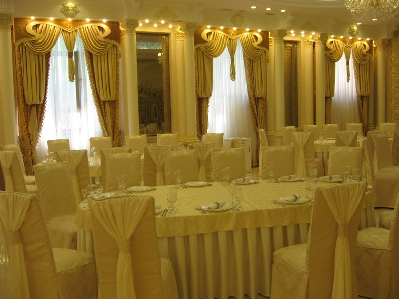 Buy CURTAINS FOR THE BANQUET ROOM