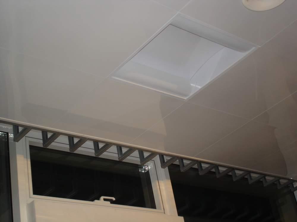 Подвесные гигиенические потолки BioLine