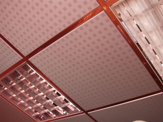 Акустические алюминиевые подвесные потолки