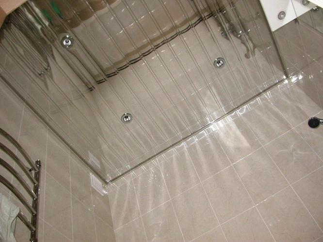 Зеркальные алюминиевые потолки