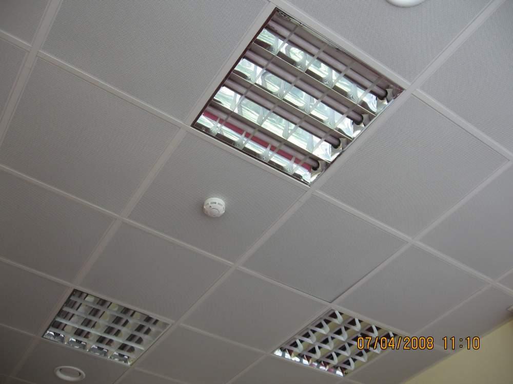 Потолки подвесные , Реечные, кассетные , грилято