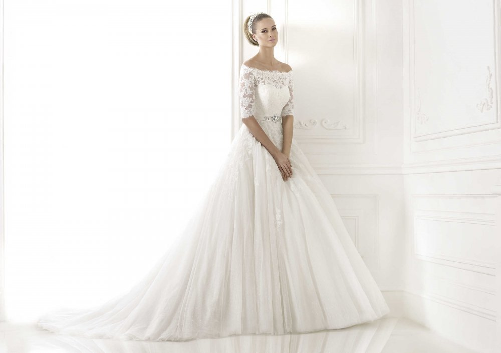 Buy Wedding dress of the known PRONOVIAS brand.