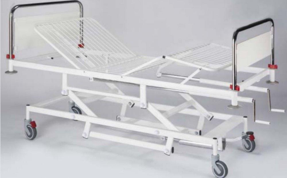 cumpără Pat spitalicesc din 4 secţii cu înălţimea reglabilă