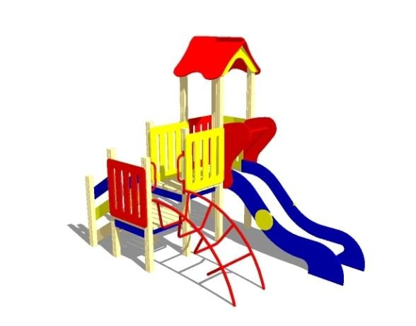Купить Детская игровая площадка ИК-5.01 мини