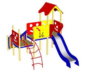 Купить Детская игровая площадка ИК-5.17