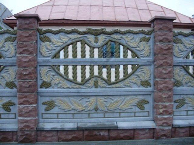 Купить Gard cu doua fete, gard bilateral,gard european
