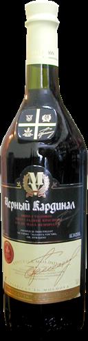 Купить Полусладкое красное вино ЧЕРНЫЙ КАРДИНАЛ Cardinal